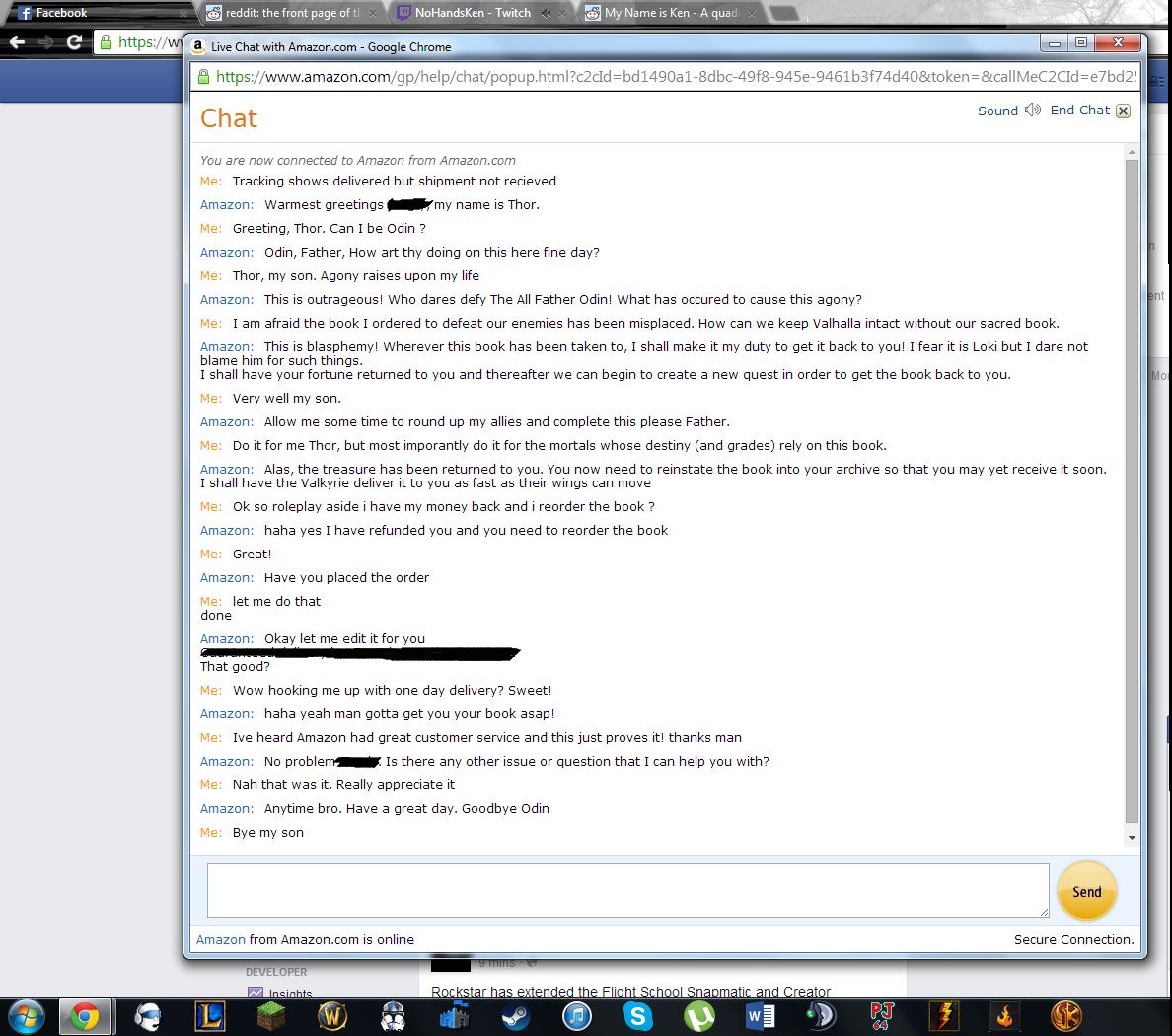 amazon клиентско обслужване