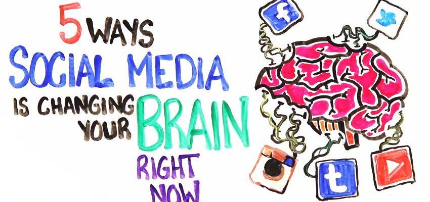 социални медии мозък